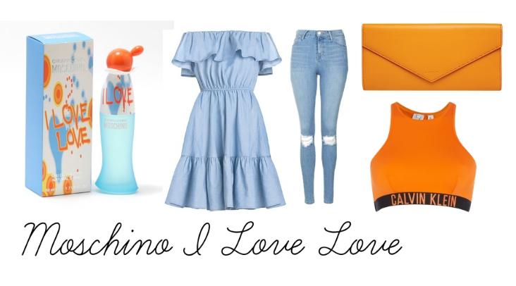 Moschino I Love Love   Koláž vytvořila The Annette Vogue